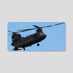 ipadMini_Helicopter_2 Aluminum License Plate