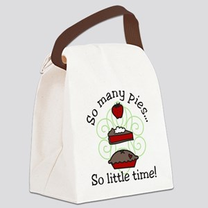 So Many Pies Canvas Lunch Bag