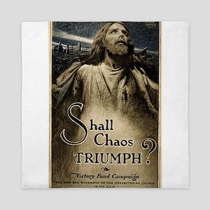 Shall Chaos Triumph - M Leone Bracker - 1919 - Pos