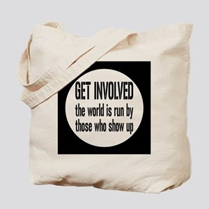 involvedbutton Tote Bag