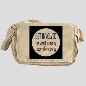 involvedbutton Messenger Bag