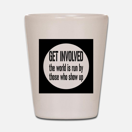 involvedbutton Shot Glass