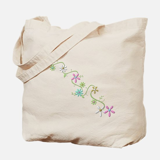 Flowers, Tote Bag