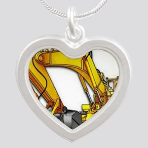pipeliners Silver Heart Necklace