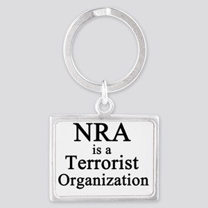 NRA Terrorist Landscape Keychain