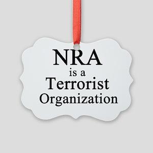 NRA Terrorist Picture Ornament