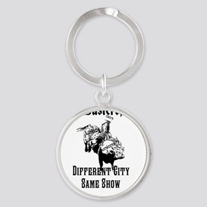 Union Busters, Inc.  Different City Round Keychain