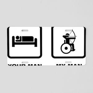 Wheelchair-Archery-ABK1 Aluminum License Plate
