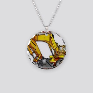Pipeliners Necklace Circle Charm