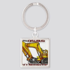 Pipeliners Square Keychain