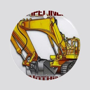 Pipeliners Round Ornament