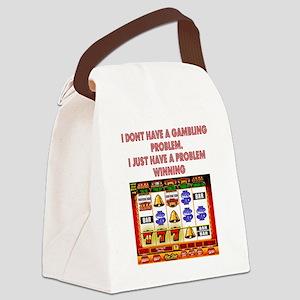 Gambling Problem Canvas Lunch Bag