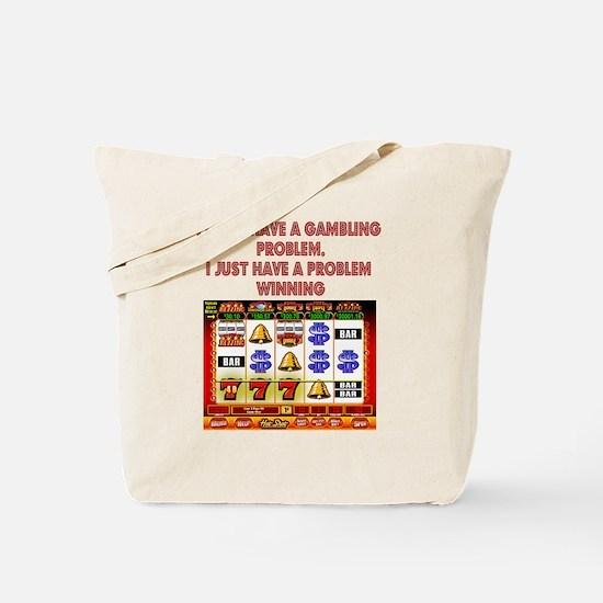 Gambling Problem Tote Bag
