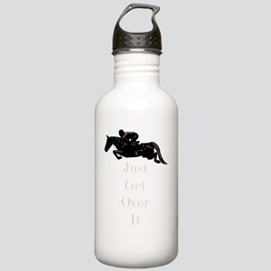 Just Get Over It Horse Stainless Water Bottle 1.0L