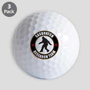 SASQUATCH RESEARCH TEAM T-SHIRTS AND GI Golf Balls
