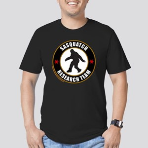 SASQUATCH RESEARCH TEA Men's Fitted T-Shirt (dark)