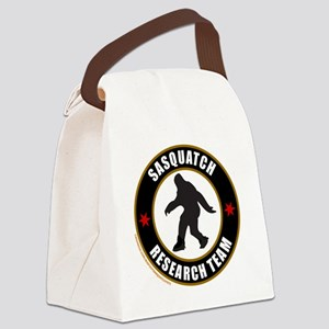 SASQUATCH RESEARCH TEAM T-SHIRTS  Canvas Lunch Bag