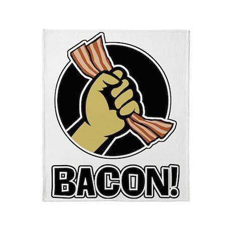 Yummy Bacon Throw Blanket