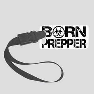 Born Prepper Biohazard Small Luggage Tag