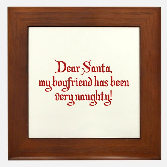 Dear Santa, My Boyfriend Has Been Very Naughty! Fr