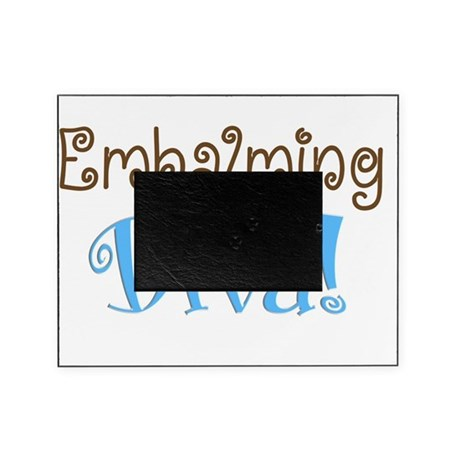 Embalming Diva Brown Blue Picture Frame By Admincp11157433