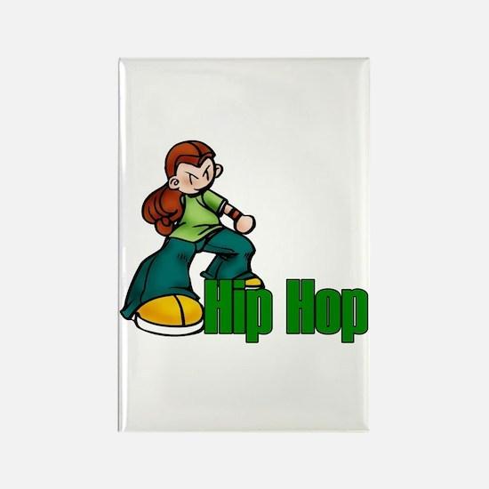 Hip Hop Dance Rectangle Magnet (10 pack)