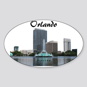 Orlando_Rect_Lake EolaFountain_With Sticker (Oval)