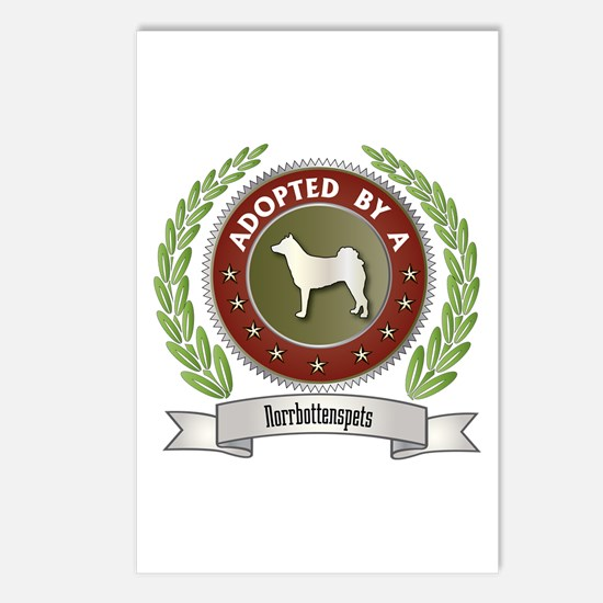 Norrbottenspets Adopted Postcards (Package of 8)