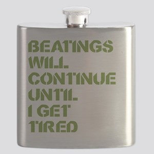 Beatings Flask