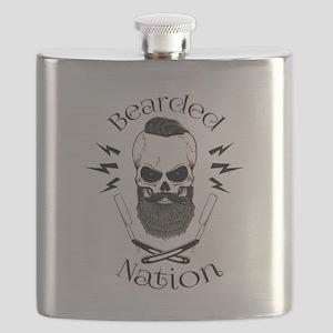 Bearded Nation Flask