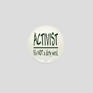 """""""Activist"""" Mini Button"""