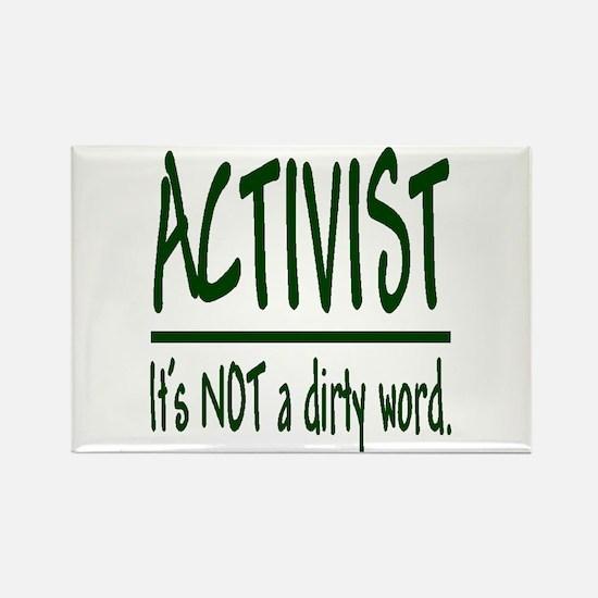 """Activist"" Rectangle Magnet"