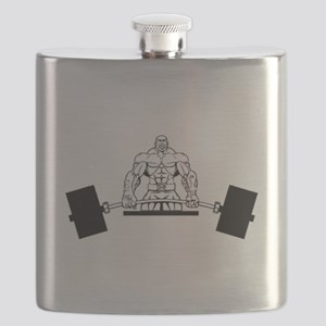 Workout Beast Flask