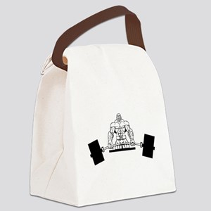 Workout Beast Canvas Lunch Bag