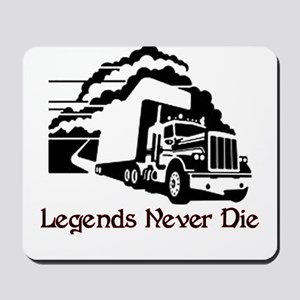 Legends Never Die Mousepad