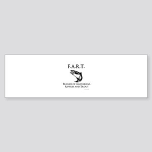 Friends of amphibians, reptiles and Bumper Sticker