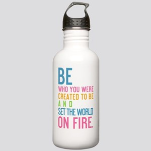 card Be who you were c Stainless Water Bottle 1.0L
