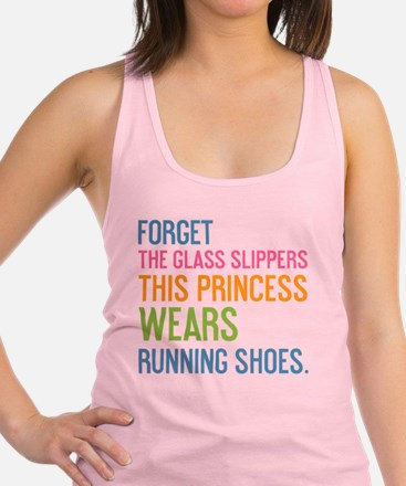 card Forget the glass slippers Racerback Tank Top