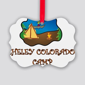 Cheley Colorado Camp truck stop n Picture Ornament