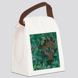 Watcher Canvas Lunch Bag
