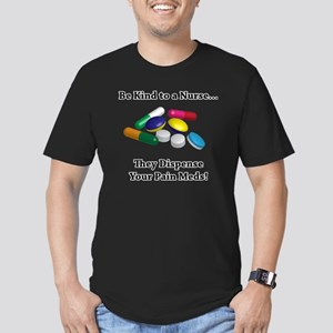 Be Kind to a Nurse. Th Men's Fitted T-Shirt (dark)