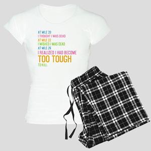 card At Mile 20 Women's Light Pajamas