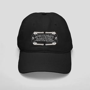 A Gun In The Hands Of A Bad Man Black Cap
