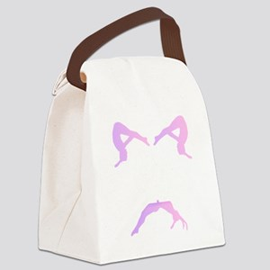 TUMBLE WHITE Canvas Lunch Bag