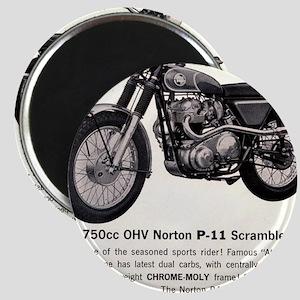 1967 Norton Dynamite Motorcycle P-11 Scramb Magnet