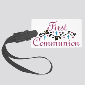 First Commuinion Large Luggage Tag