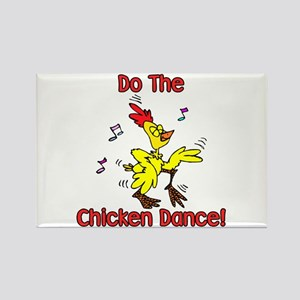 Do the Chicken Dance! Rectangle Magnet