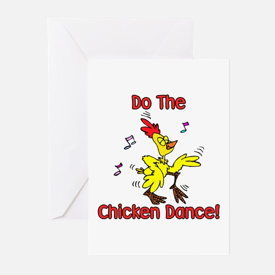 Do the Chicken Dance! Greeting Cards (Pk of 10