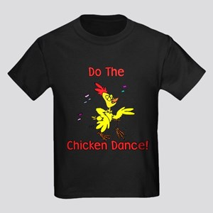 Do the Chicken Dance! Kids Dark T-Shirt