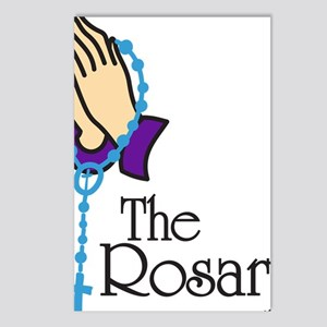 The Rosary Postcards (Package of 8)